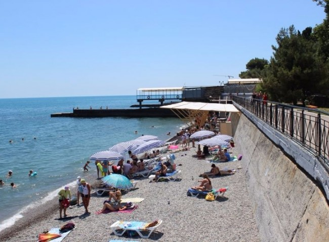 Рабочая группа по мониторингу пляжных территорий проверила пляжи Гурзуфа
