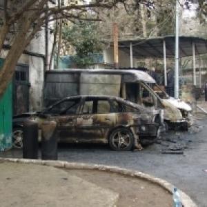 Поджоги автомобилей в Ялте