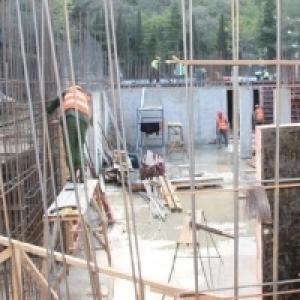 Строительство многофункционального медцентра в Ливадии